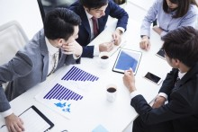 従業員への財務状況説明支援・従業員集会主催